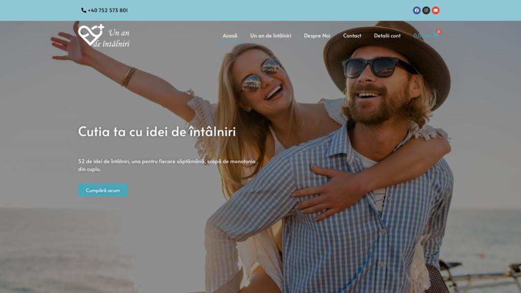 Un an de intalniri - scapa de monotonia din cuplu by Xplication - Web Design & Development Company